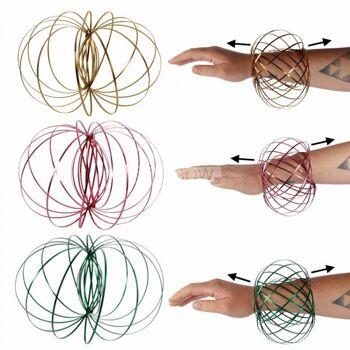 Magic Ring Spirale Sortierung verschiedener Farben