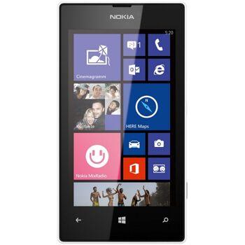 Nokia Lumia 520 Smartphone (10,1 cm (4,0 Zoll) WVGA ClearBlack LCD Touchscreen, 5,0 Megapixel Auto Fokus Kamera, 1,0 GHz Dual-Core-Prozessor