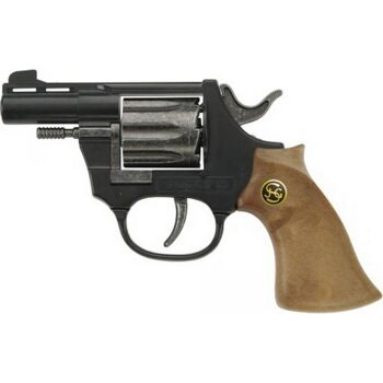 8 Schuss schw. Pistole 14,5cm, Tester, 1 Stück