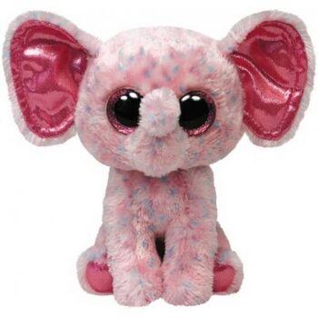 Ellie - Elefant pink gepunktet, ca. 15cm, 1 Stück