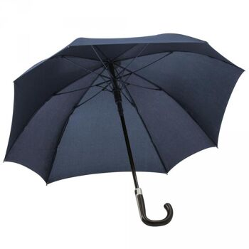 Regenschirm AC Stockschirm Schirm Automatik Windproof Fiberglas quadratisch Sturmschirm OKTAGON®
