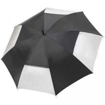 Regenschirm Golfschirm AC Gästeschirm Schirm Automatik Windproof Fiberglas Ventilation Air Vent Sturmschirm OKTAGON®