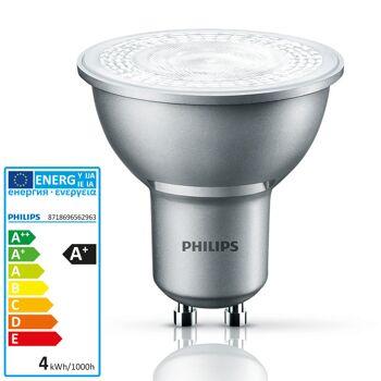 Philips Master Value LEDspot Lampe 3,5 Watt 400cd GU10 230V 40 Grad 827 warmweiß extra dimmbar