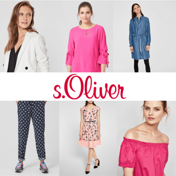 NEW ARRIVAL SPRING S'OLIVER WOMEN COLLECTION - FROM 5,20 EUR/PC