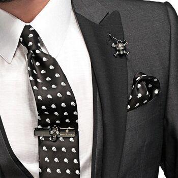 Mischmodelle und Drucke Krawatten