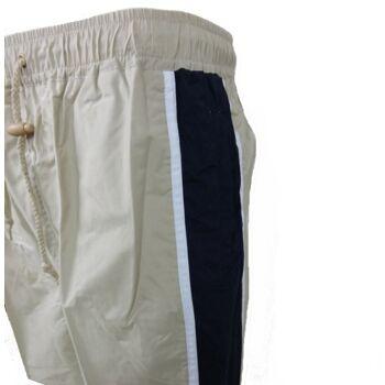 'Ventisoa' Herren Badehose Khaki mit blauen Seiten