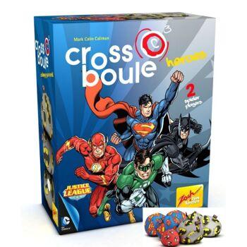 12-2050898, Crossboule Spiel, Heroes Batman vs Superman, In- und Outdoor Spiel