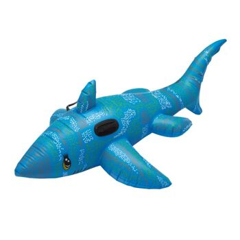 12-5044323, Schwimmtier Hai aufblasbar  160cm, Schwimmhilfe, Badespass, Schimmspass