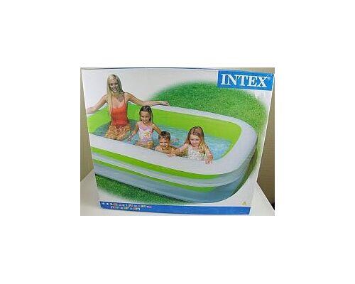 12-61396724, Intex Swim Center Family Pool, Kinder Aufstellpool, Planschbecken, Familienpool