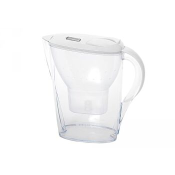 BRITA Wasserfilter Filterkanne Aluna Cool Maxtra+ 2,4 l weiß