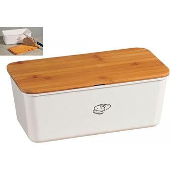 KESPER Brotbox weiß B34xH14cm