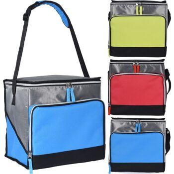 28-957860, Kühltasche mit 18 Liter Fassungsvermögen, mit Tragegurt längenverstellbar, Picknick, Grillen, Party, Garten, Reise,