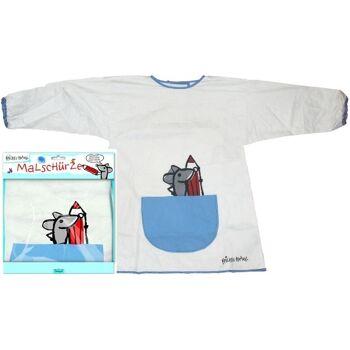 12-897773, Krickel-Krakel Malschürze, Kinder Malschürze Malkittel Bastelschürze - SONDERPOSTEN