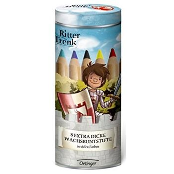 12-898985, Ritter Trenk Wachsbuntstifte 9-teilig, extra dicke Stifte statt 8,99 - SONDERPOSTEN