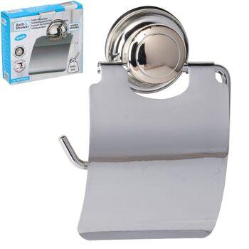 28-950815, Metall Toilettenpapierhalter, ohne Bohren zu Befestigen