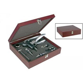 HI Sommelier-Set in Holzbox 10tlg.