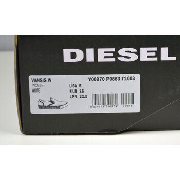 Diesel Damen Slipper Sneaker Vansis W Y00970 Turnschuhe Gr.35 Schuhe 19051840