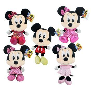 27-31620, Plüschfiguren 36 cm, Disney Minnie und Micky