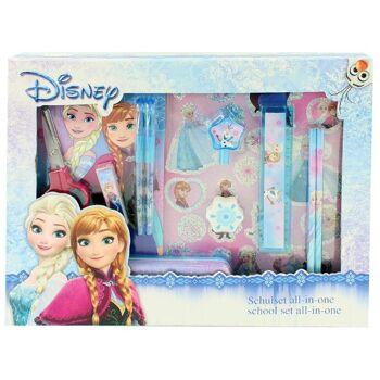 27-47518, Disney - Frozen - Schulset Schreibset 11 teilig
