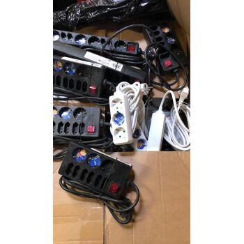 Elektromaterial MIX Buhl, RITTER - Schalter, Stecker, usw.