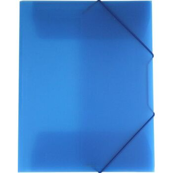 Eckspanner / Gummizugmappe A4 blau