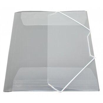 Eckspanner / Gummizugmappe A4 transparent