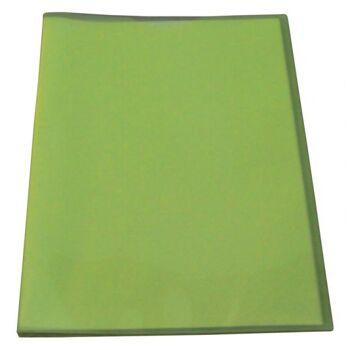 Flexibles Sichtbuch A4 mit 10 Hüllen in transparent limone