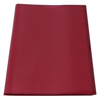 Flexibles Sichtbuch A4 mit 30 Hüllen in transparent rot