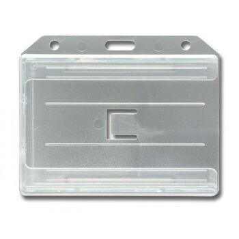Multi-Kartenhalter bis zu 4 Karten transparent-matt - 100 Stück