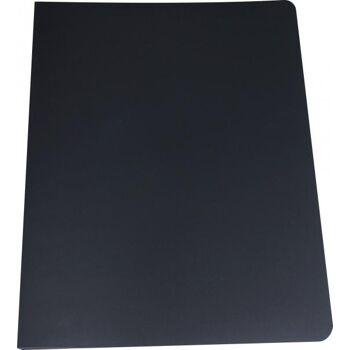Nachfüllbares Präsentationsbuch A2 schwarz mit 10 Hüllen