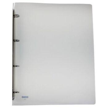 Ringbuch 4 Ringe Kunststoff transparent klar