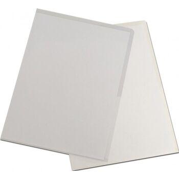 Sichthüllen A4 PP-Folie 150 my genarbt transparent - 100 Stück