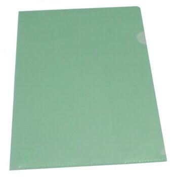 Sichthüllen Dokumentenhüllen 180my transparent grün - 10 Hüllen