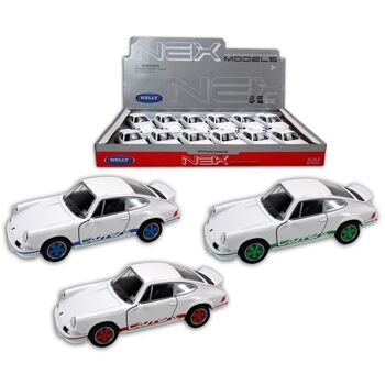 27-47504, WELLY Metallauto Porsche '73 Carrera RS