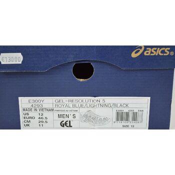 Asics Gel-Resolution 5 Herren Laufschuhe EU 46,5 Herren Schuhe 31051700