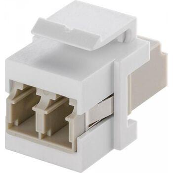 Keystone Modul Lichtwellenleiter - 2x LC-Duplex Buchse