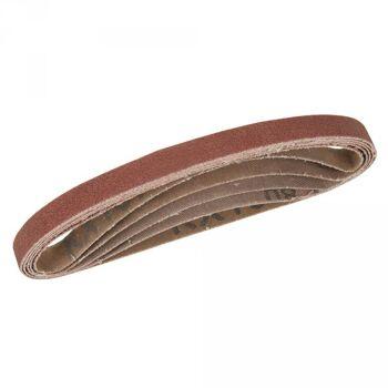 Schleifbänder, 10x330 mm, 5-tlg. Satz