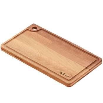 Schneidebrett Buche groß 35x25cmx15mm Schneiden Brett Schneideplatte Platte Holz
