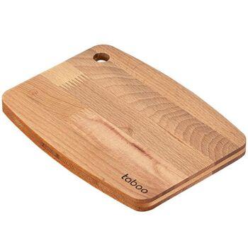 Schneidebrett Buche klein 22x16cmx15mm Schneiden Brett Schneideplatte Platte Holz