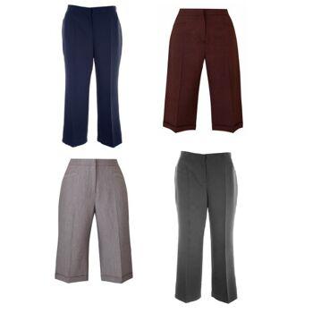 Verschiedene Modelle und Farben Magi-Fit-Hosen in großen Größen