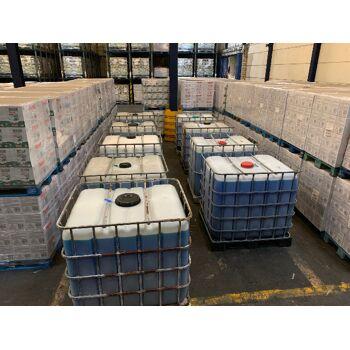 1000 Ltr. Waschgel flüssiges Waschmittel Flüssigwaschmittel blau Meeresbriese