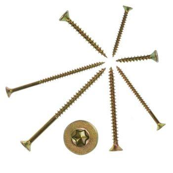 3000 Stück Schrauben Spanplattenschrauben Holzschrauben 4 x 40 mm
