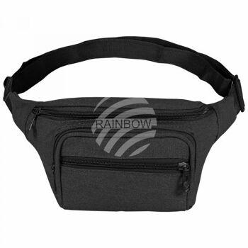 Gürteltasche Hipbag Bauchtasche Bumb Bag schwarz