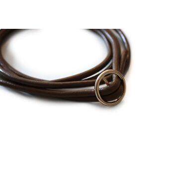 Lederband 160cm Ersatzschnur Kette zum Umhängen