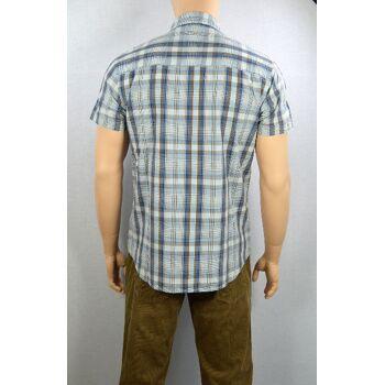 Wrangler Herren Hemd S/S Flap Shirt Wrangler Hemden Shirts 20101500