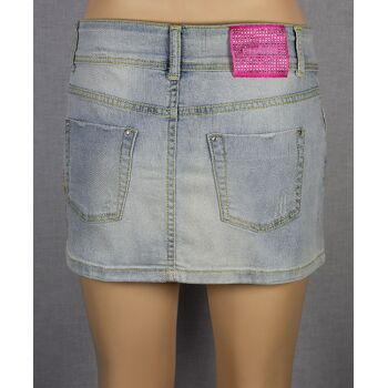 Phard Denim Basic Mini Rock Febe Fiori Marken Damen Röcke 1-189