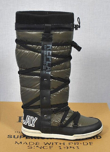 Replay Damen Winter Stiefel Gr.37 Damen Schuhe 21091320