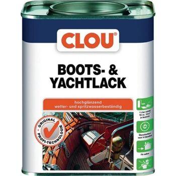 Boots- & Yachtlack 750 ml, farblos glänzend, 6 Stück