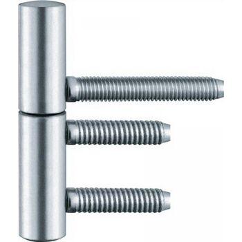 Einbohrband BAKA B 1-15 Rollen-L.75mm Rollen-D.15mm Stahl topzink 2-teilig,20St.