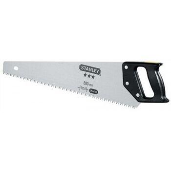 Holzsäge L.500 mm schärfbar 3.5 Zähne/Inch Stanley